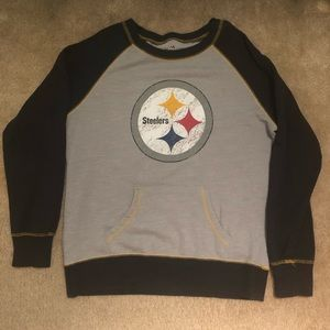 Majestic Fan Fashion Sweaters - Pittsburgh Steelers Sweater